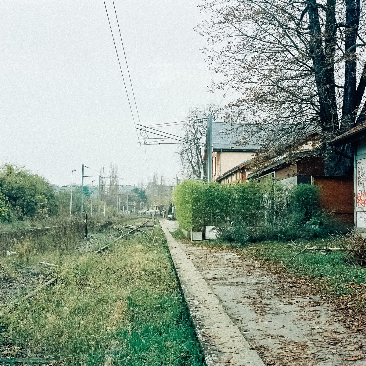 Ancienne gare des eaux-Vives, Genève.