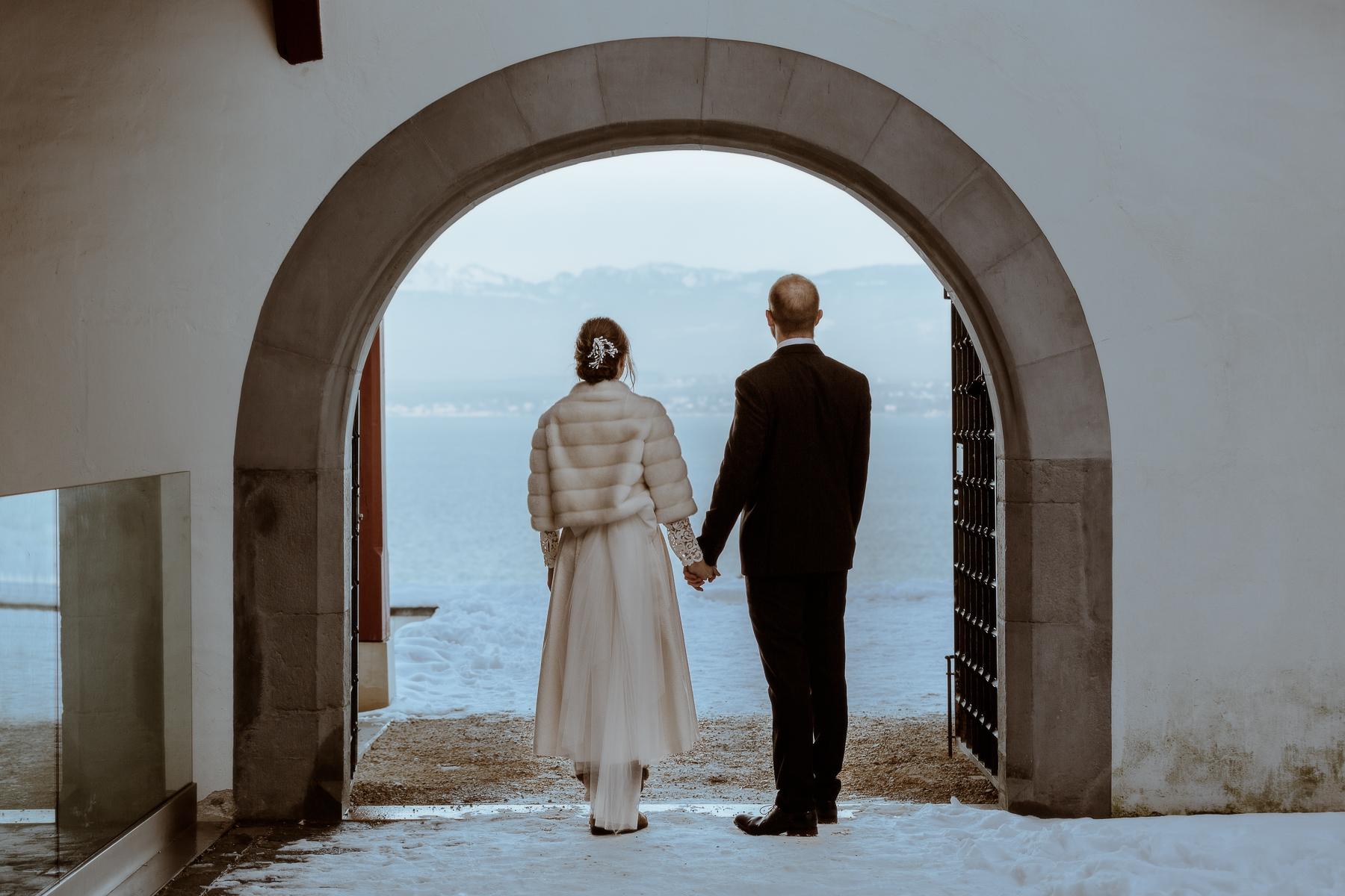 Mariage à Nyon